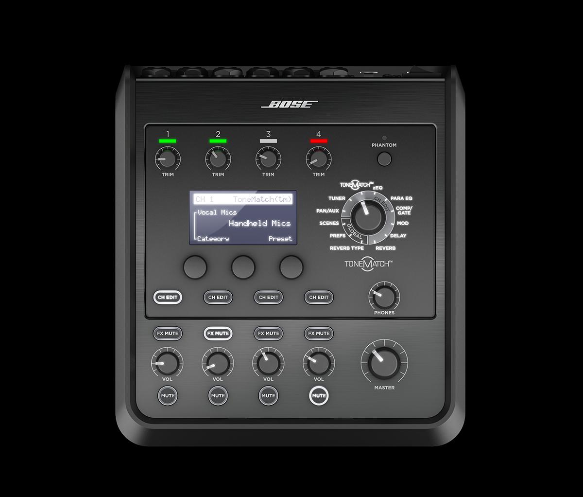 Bose T4S ToneMatch mixer Black 785403-0110