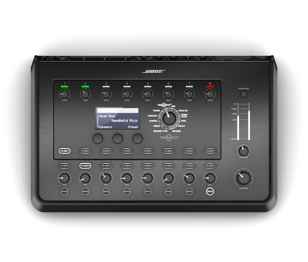 Bose T8S ToneMatch mixer Black 785491-0110